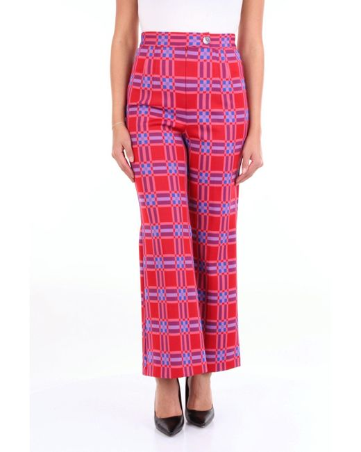 Attic And Barn Red Polyester Pants