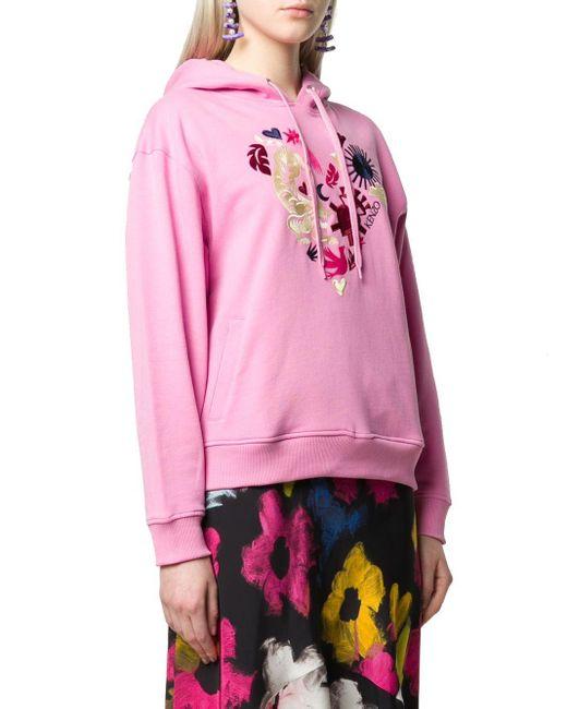 KENZO Pink ROSA BAUMWOLLE SWEATSHIRT