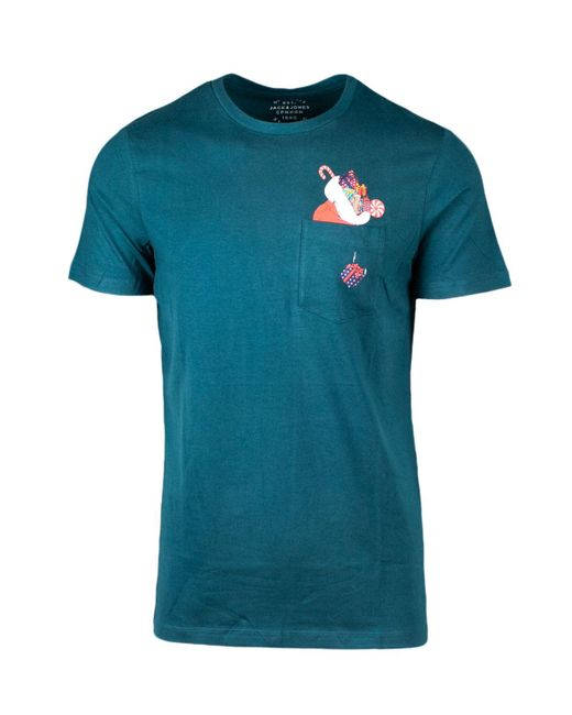 Jack & Jones Green Cotton T-shirt for men