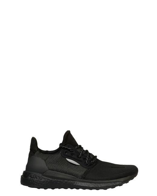 Adidas Originals Black Fabric Sneakers for men