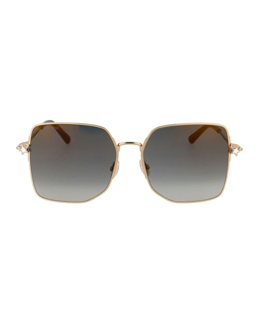 Jimmy Choo Multicolor METALL SONNENBRILLE