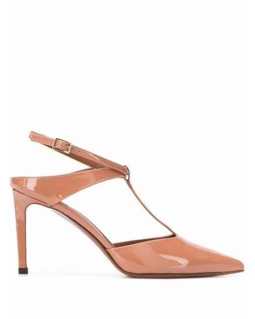 L'Autre Chose L'autre Chose Women's Ldl05285cp00412123 Pink Leather Sandals