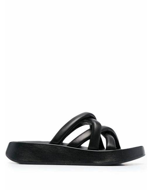 Ash Black Vanessa01 Leather Sandals