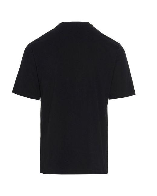 Moschino BAUMWOLLE T-SHIRT in Black für Herren