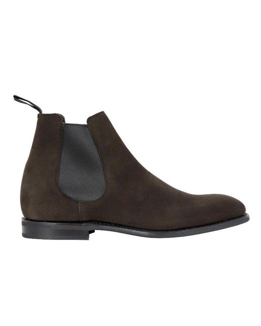 Church's Brown Suede Ankle Boots for men