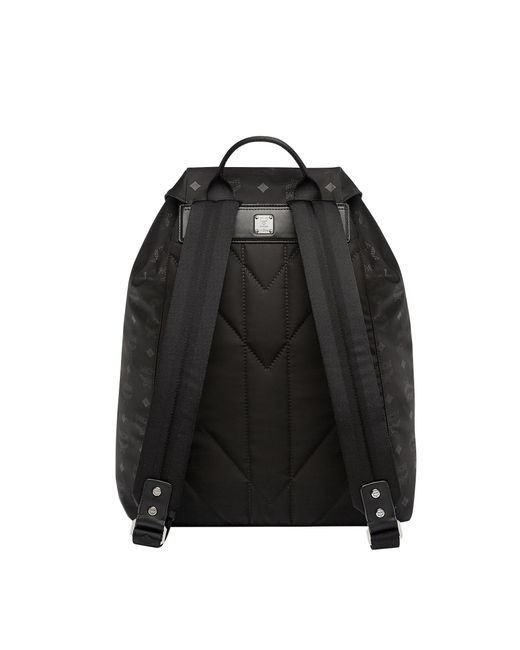 7b6ddc7f4463 ... MCM - Black Kreuzberg Rucksack In Monogram Nylon for Men - Lyst ...