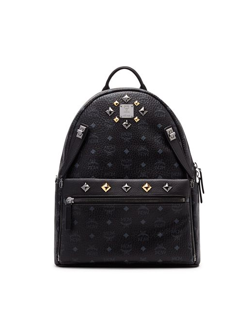 MCM | Black Stark Kristall Backpack | Lyst