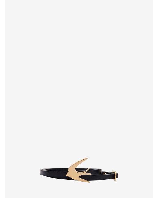 McQ Alexander McQueen | White Swallow Mini Wrap Bracelet | Lyst