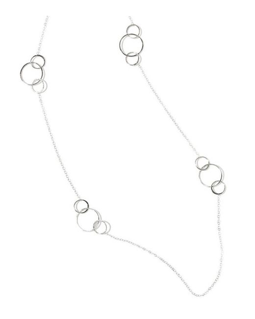 Melissa Joy Manning | Metallic 24 Inch Silver Necklace With Hammered Links | Lyst