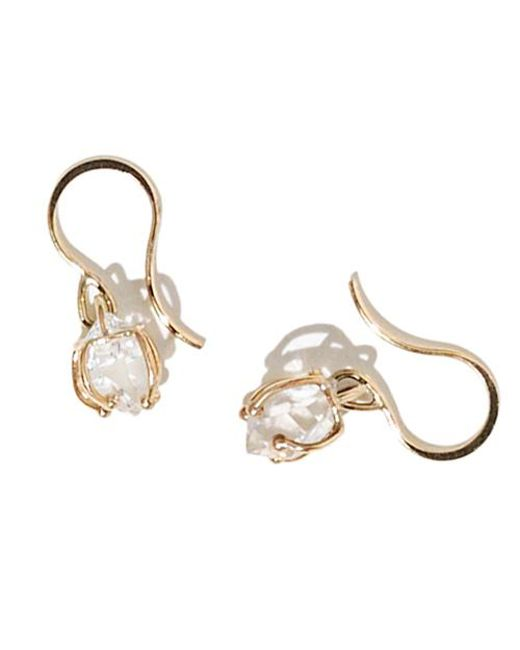 Melissa Joy Manning | Metallic Herkimer Diamond Earrings | Lyst