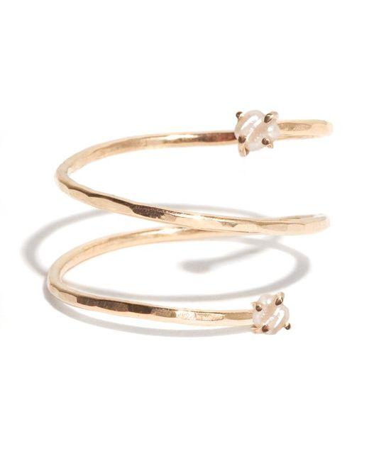 Melissa Joy Manning | Metallic Pearl Spiral Ring | Lyst