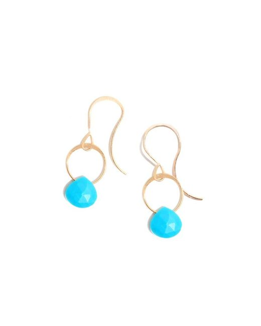 Melissa Joy Manning   Blue Turquoise Earrings   Lyst