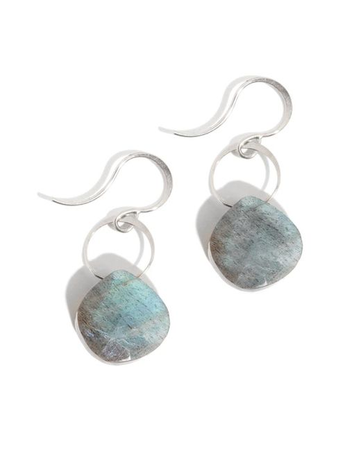 Melissa Joy Manning | Metallic Large Labradorite Drop Earrings | Lyst