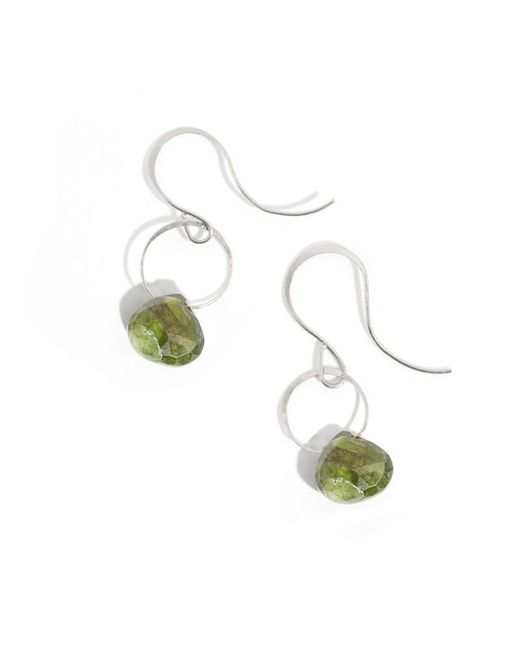 Melissa Joy Manning | Green Idocrase Drop Earrings | Lyst