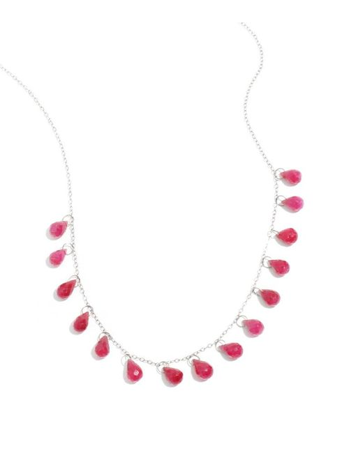 Melissa Joy Manning | Red Ruby 15 Drop Necklace | Lyst
