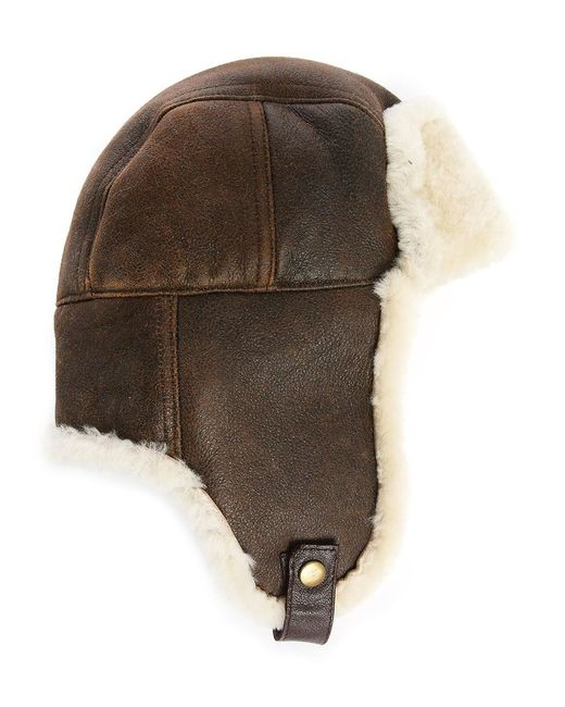 Canada Goose coats online authentic - Ugg Light Brown Suede Sheepskin Lockwood Shearling Trapper Hat in ...