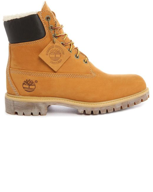 Timberland   Natural Mens 6 Inch Premium Boots for Men   Lyst