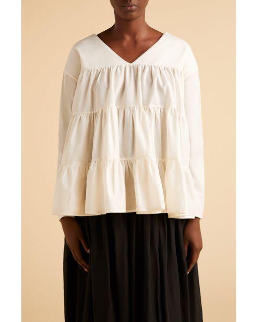 Merlette White Sidonia Blouse?variant=39312791634022