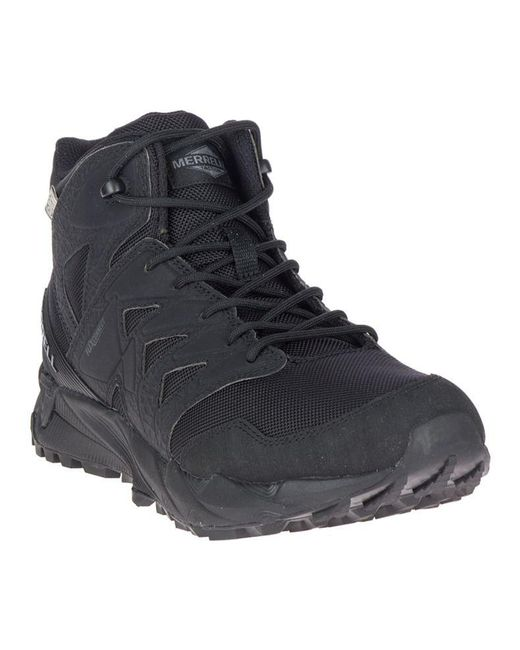 41cb472606 Men's Black Agility Peak Mid Tactical Waterproof Shoe