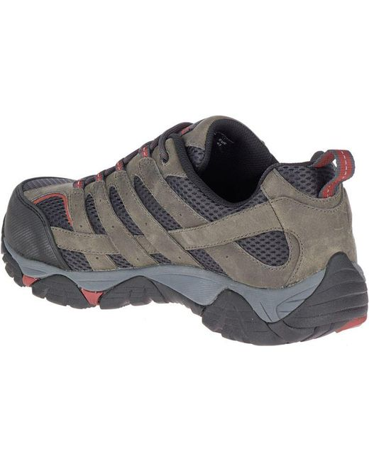 2ba23f9e94 Men's Moab Vertex Vent Comp Toe Work Shoe Wide Width