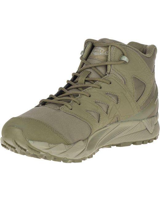 d40951aed6 Men's Green Agility Peak Mid Tactical Waterproof Shoe