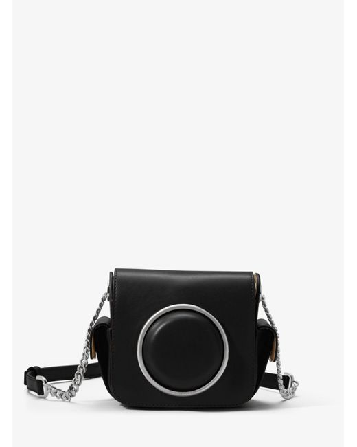 Michael Kors | Black Scout Medium Leather Camera Bag | Lyst