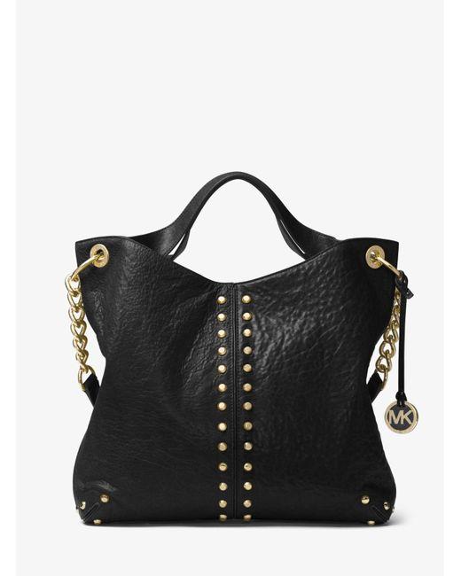 7dffbf93ce09ef Astor Leather Shoulder Bag Michael Kors | Stanford Center for ...