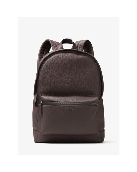 Michael Kors | Brown Bryant Leather Backpack for Men | Lyst