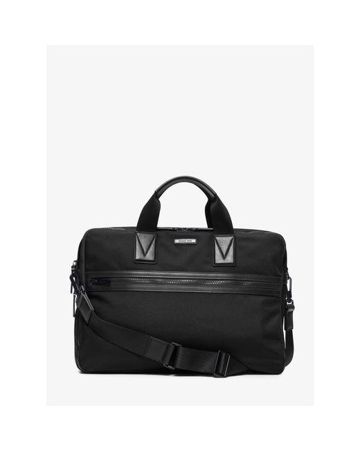Michael Kors | Black Parker Large Nylon Briefcase for Men | Lyst