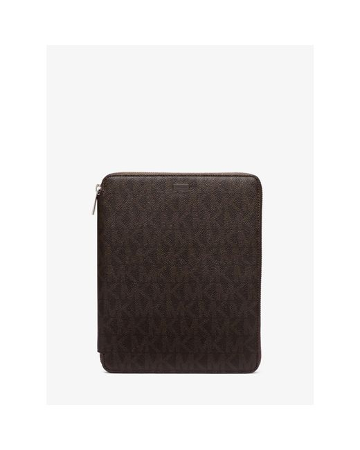 Michael Kors | Brown Logo Tablet Case For Ipad Air | Lyst