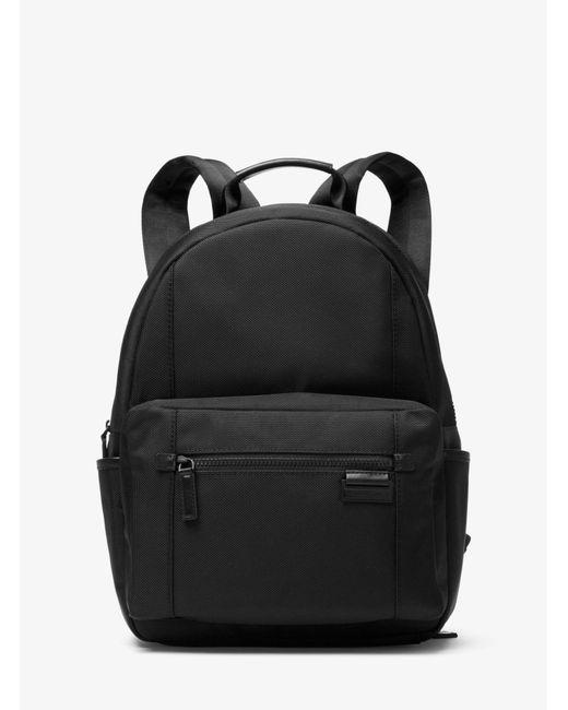 Michael Kors - Black Travis Nylon Backpack for Men - Lyst