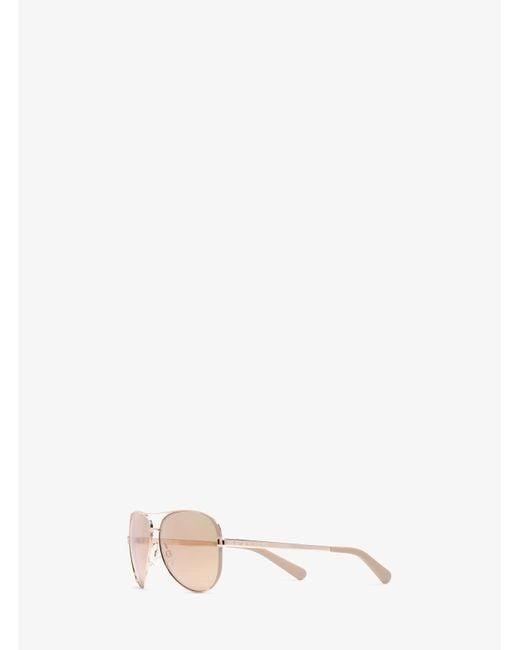 Michael Kors | Pink Hvar Sunglasses | Lyst