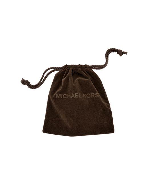Michael Kors | Metallic Baguette Crystal Silver-tone Ring | Lyst