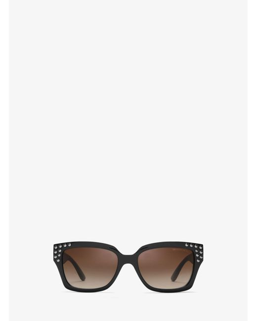Michael Kors - Black Banff Sunglasses - Lyst