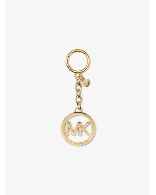 Portachiavi Con Logo di Michael Kors in Metallic