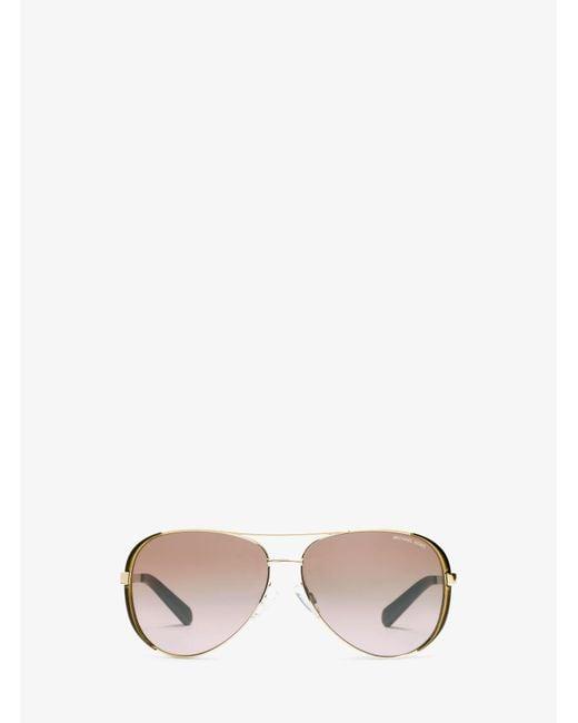 Michael Kors - Metallic Chelsea Sunglasses - Lyst