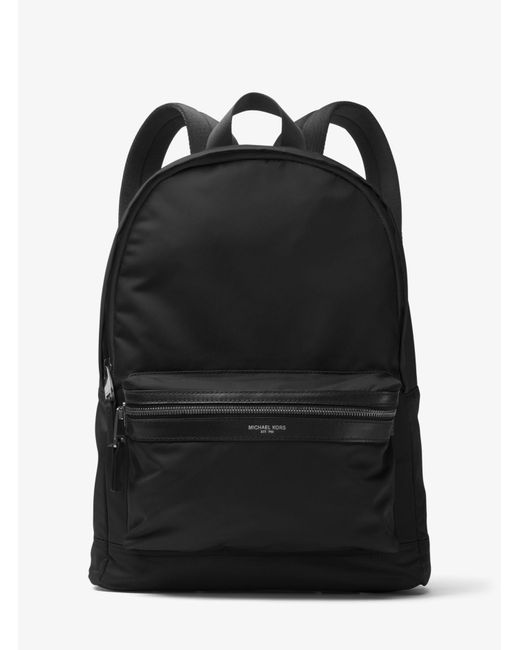 Michael Kors - Black Kent Nylon Backpack for Men - Lyst
