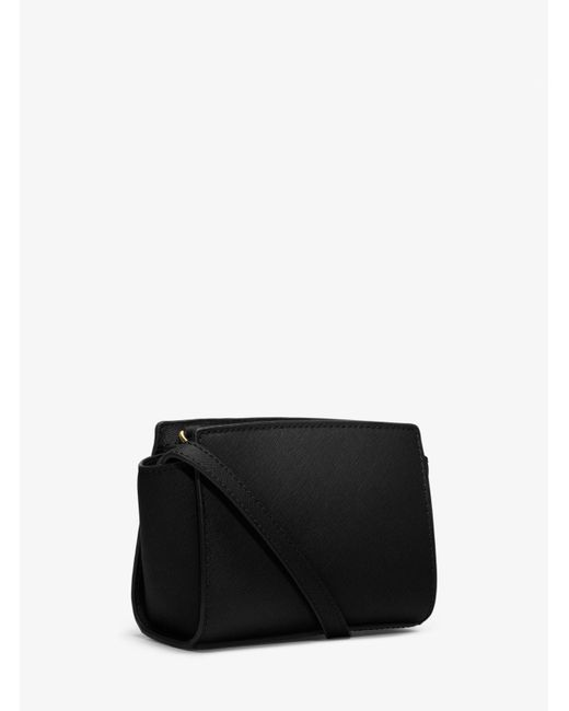 da6f519af9c8fd ... where can i buy michael kors black selma mini saffiano leather  crossbody lyst . e9273 773c6
