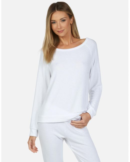 Michael Lauren White Kenny Core Pullover