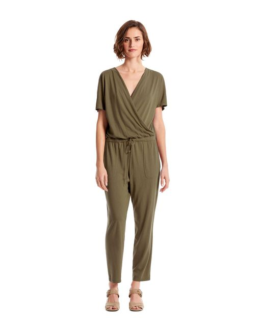 Michael Stars Green Chelan Jumpsuit