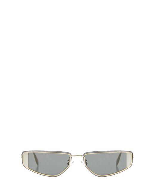 Alexander McQueen Metallic Sunglasses