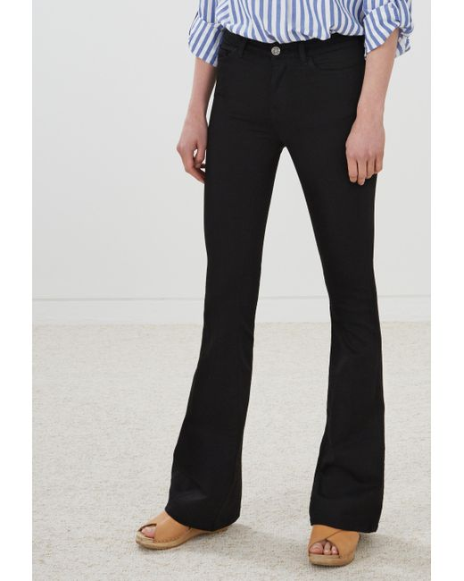 MiH Jeans   Black Flare Jeans   Lyst