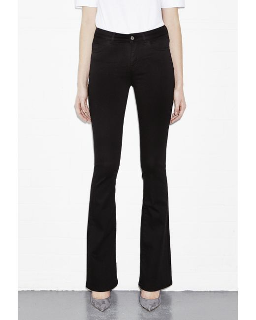 M.i.h Jeans   Black Flare Jeans   Lyst