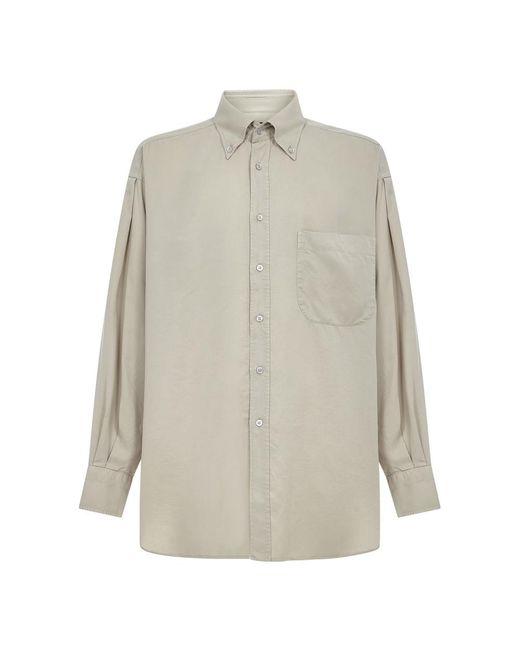 Tom Ford Shirt in het Natural voor heren