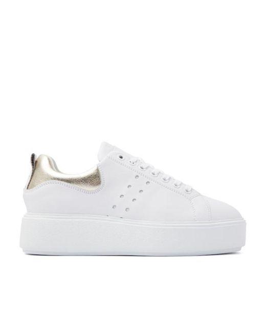 Philippe Model Low Top Sneakers in het White