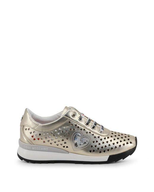 Love Moschino Sneakers Ja15082g17ic in het Pink