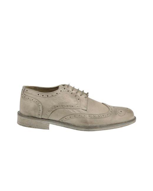 DUCA DI MORRONE Lace Up Shoes in Gray für Herren