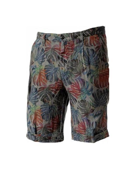 40weft Bermuda Estampada 5104 Shorts in het Green voor heren