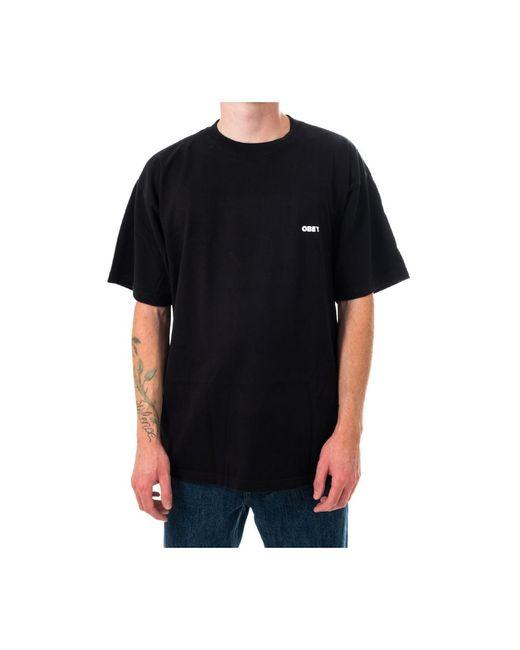 Obey International Cities 2 Heavyweight T-shirt 166912398.0285 in het Black voor heren