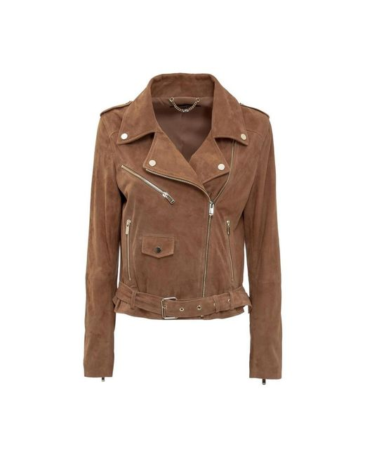 Double-Breasted Jacket di Arma in Brown